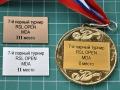вставки в медаль