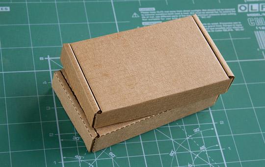 Макеты коробок из гофрокартона